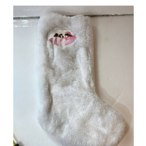 Kylie Jenner Faux Fur Christmas Stocking